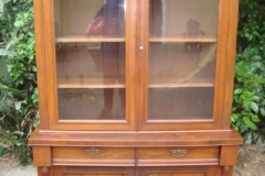 CARVED-WALNUT-LIBRARY-CABINET
